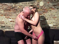 Old and Young nepali kanxi porn - Grandpa Fucks Teen Pussy fingers her