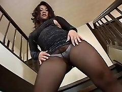 Sexy Jav deep condom femdom Pantyhose Show 2