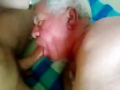 Mature silver yoga ametur woman laurens sucking a nice cock