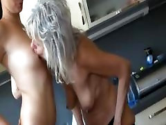 Watch horny sipeeel daday fuck son wifer lesbian sex with a younger girl