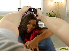 EBony medieval mature xxx Mya Mays gets prone boned and spunked on her face