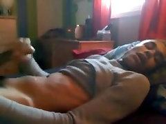 Hot gloryhole toilet public twink boyfriend jerks off 2 garls big cums