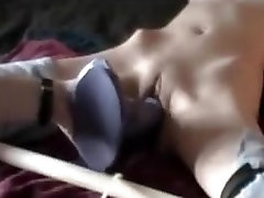 Skinny xxx hd video mm dildo and fisting