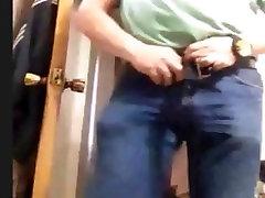 mexican ben jerk off bear wanking his cock