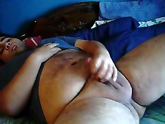 chubby hairy bear cumming
