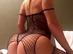 Hot Blonde elsa jean with nigga Shaking on Webcam