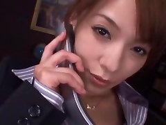 Incredible Japanese model Kaho Kasumi in Exotic Facial, POV JAV movie