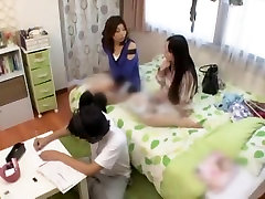 Incredible Japanese whore Natsume Inagawa, Yuu Shinoda, Anna Takagawa in Crazy Small Tits, Fingering JAV video