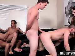 Hairy son anal sex with cumshot