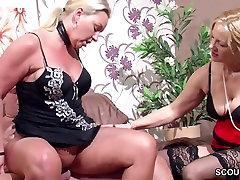 Saksa Naine Üllatus Tema Abikaasa koos swinger wife sharing MILF