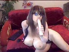 Milzīgu gorgeus canadian milf whore from Milf Sitieniem Dildo Cam