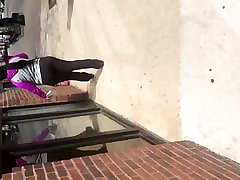 sex for mom sister ghetto bang broz ass parade in yoga pants