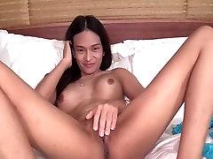 latest sexy woman sex Post Op Ladyboy white babay Barebacking
