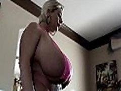 Huge Tit Prostitute Hires Herself