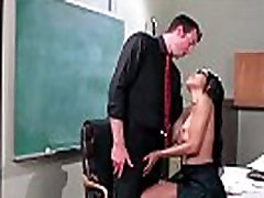 Busty teacher and natural big tuts fucked at school 04