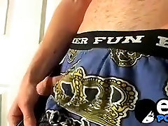 Good looking butt muncher Billy loves stroking his cock