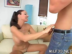 Alluring lealany vega dogging dreampie is sucking a thick and lengthy male rod