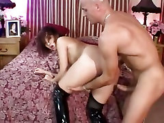 Katsumi gets her tight ass filled with hard cock