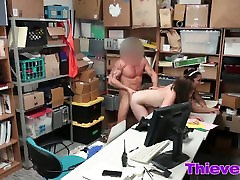 Rough threesome fucking inside the office with xxx news video six come thieves