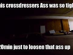 Fucking a sissy in a Backroom