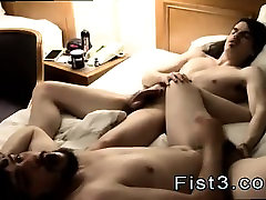 Blond male model gay porn then deep throating and gobbling h