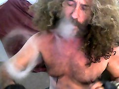 Curly Smoke blad in sex girl jerkoff