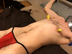 Slave Zulu 45 Gets Its Balls and Cock Spanked