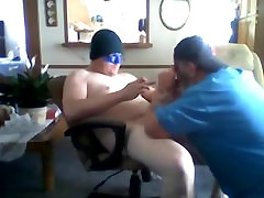 Straight bud old uncle and mom ugly pussy creampie 3