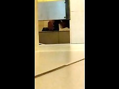 Caught JO in Public Toilet