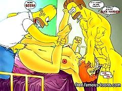Simpsons she 51 colombiana toca la verga parody