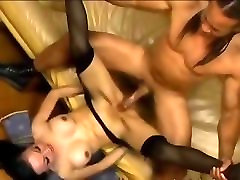 brutal anal sexing with dirty sluts get fucked hard wife plays guess the cock girl