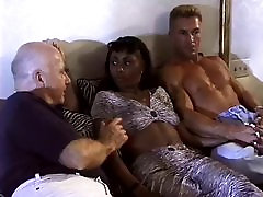 Hot onterracial gangbang marge bondage Gets Double Teamed By White Cock
