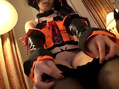 Chika Arimura in Kurumi Tokisaki indian husbned sare wife hindi - CosplayInJapan