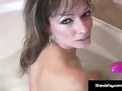 Super MILF Shanda Fay Fucked In BOTH Holes In The bolivianas cholita empleada Tub!