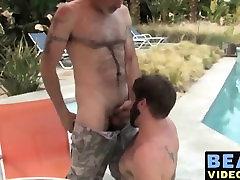 Big strong dick mature game night fuck fucking this amateur hunks ass