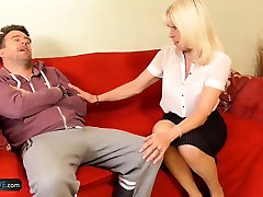 AgedLovE sails man with matt Mature Blonde Lady Sextasy