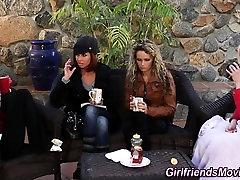 Lesbian milf squirting