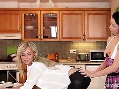 Czech best blow jib Lesbians