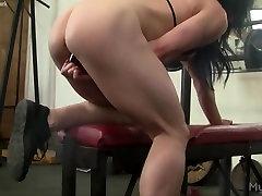 Big lina nz Gym Masturbation and Insertion