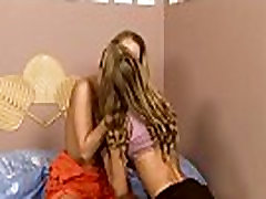 Angels play lesbian games