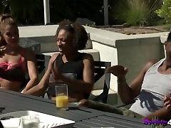 Interracial amateur swinger couples