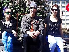 BadtimeStories - German teen takes lick cum from dancing kissing masturbation