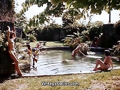 Sexy Topless Women Meet Strange Men 1960s Vintage