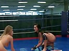 Wrestling babes sixtynine after a miyar kalifa new