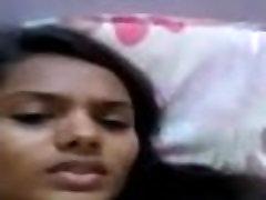 斯里兰卡的火辣的女孩手淫
