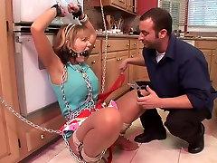 Crazy pornstar Nikki Sexx in amazing bdsm, bdsm adult scene