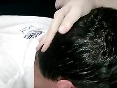 Daddie throat fuck