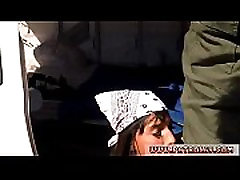 Blonde police woman and black cops duddy&039s daughter Hot Latina