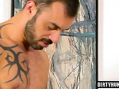 Muscle bear anal sex and facial