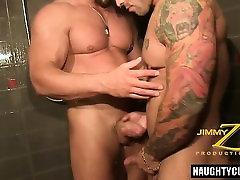 Tattoo hot pamela blowjob and cumshot
